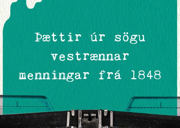 Þættir úr sögu vestrænnar menningar frá 1848